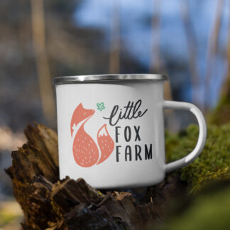 Little Fox Farm Enamel Mug